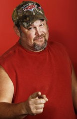 Actor and comedian Dan Whitney, also known as Larry the Cable Guy, seen in a 2011 file photo.