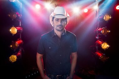 Country singer-songwriter and musician Brad Paisley pictured in a 2014 file photo.