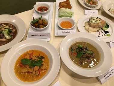 Some of the dishes to be featured during Syracuse Downtown Dining Weeks at the Lemon Grass restaurant in Armory Square.