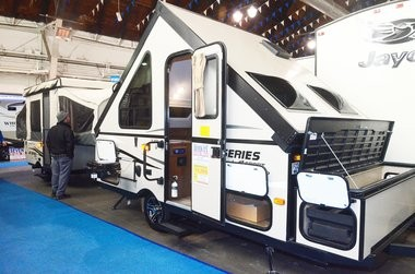 The 45th annual CNY RV and Camping Show at the New York State Fairgrounds, Friday, March 6, 2015.