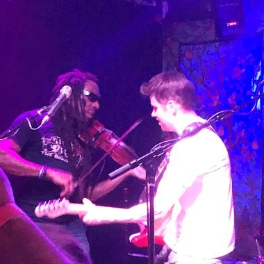 Boyd Tinsley and Mycle Wastman of Crystal Garden perform a sold-out show at Funk 'N Waffles on Monday, April 3, 2017.