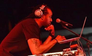 "DJ Maestro provides the music at Syracuse University's ""Cuse Jam"" at the Oncenter at War Memorial Thursday on May 12, 2016. (Michael Greenlar | mgreenlar@syracuse.com)"