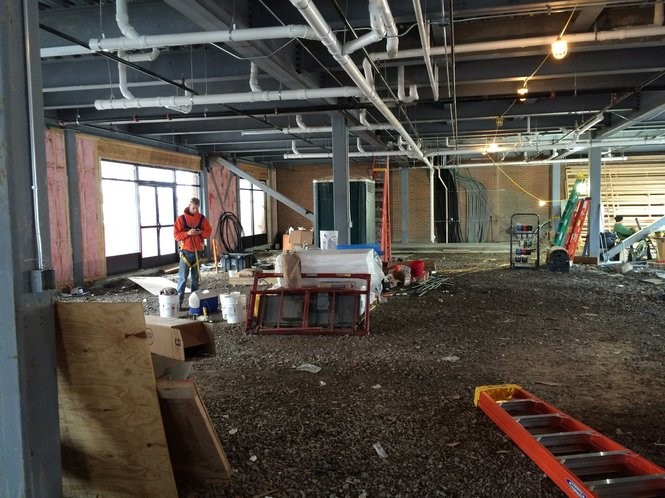 In the historic Amos building overlooking Clinton Square in Syracuse, The Ice Cream Stand will occupy a section of the first-floor commercial space. (Rick Moriarty   rmoriarty@syacuse.com)