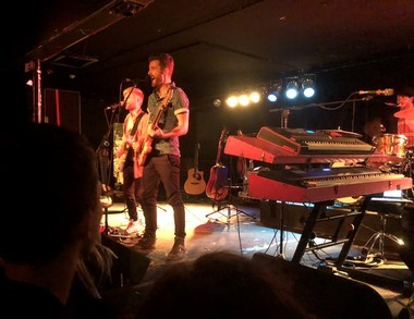 Jukebox the Ghost performing Wednesday, Sept. 19, 2018, at the Lost Horizon in Syracuse.Photo by Casey Russell