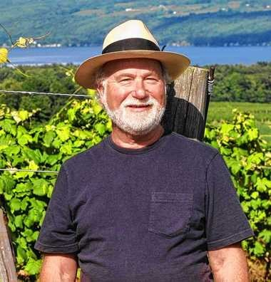 "Thomas Pellechia, author of ""Timeless Bounty: Food and Wine in New York's Finger Lakes"""