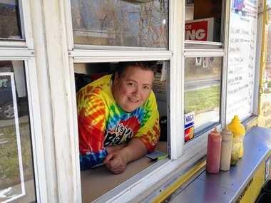 Pat Orr of the PB&J food truck.