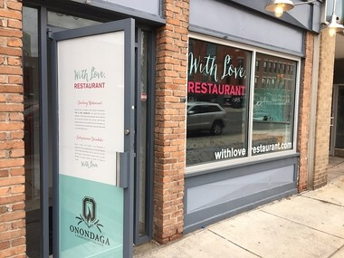 With Love, Pakistan at 435 N. Salina St. in Syracuse, is a teaching restaurant run by Onondaga Community College. Its cuisine, and name, will change twice a year as new students cycle through the program.