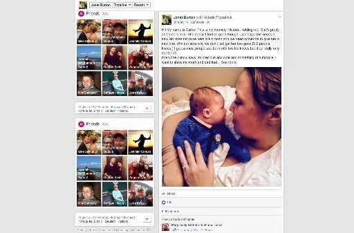 This Facebook post of Victoria Fitzpatrick and her baby, Carter, attracted 50 potential kidney donors.