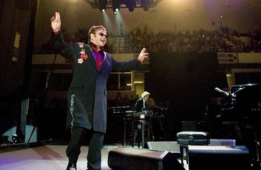 Elton John performs in 2011 at the Blue Cross Arena in downtown Rochester, seating capacity of 13,000: An element missing from downtown Syracuse?