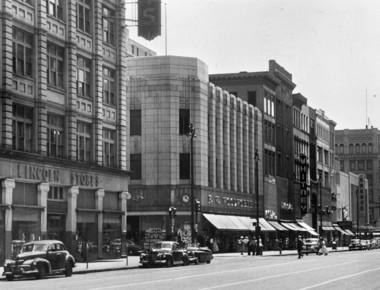 The old Woolworths building as it once was in Syracuse, 1953.
