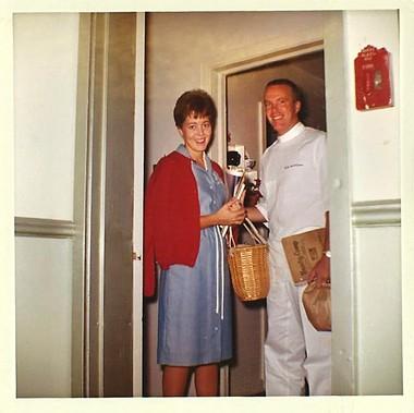 Jane and John Sullivan, early 1960s.