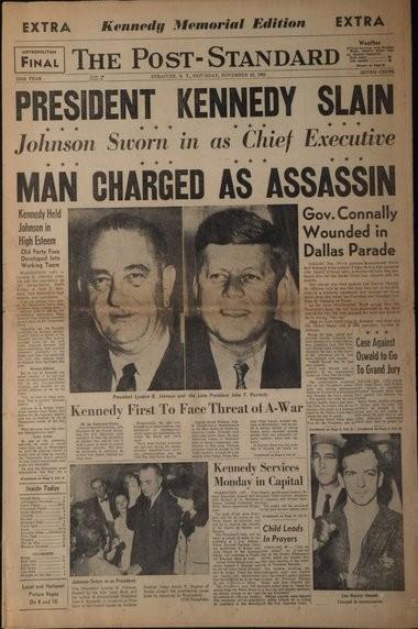 The Post-Standard, Nov. 23, 1963