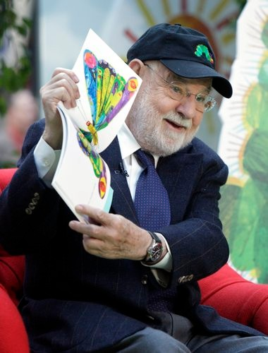 Eric Carle reads 'The Very Hungry Caterpillar' on NBC's 'Today,' 2009.