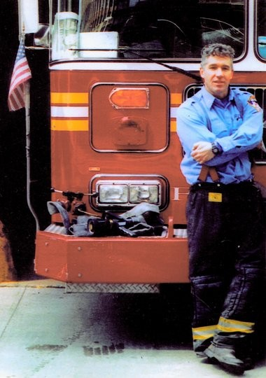 Capt. Billy Burke, of the Fire Department of New York, shortly before Sept. 11.