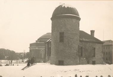 Holden Observatory, Syracuse University, late 1930s.