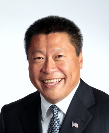 State Sen.Tony Hwang of Connecticut, a Syracuse native, today.