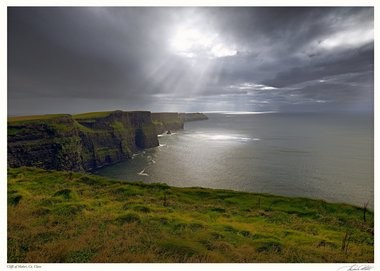 The cliffs of Moher, County Clare, Ireland: The work of John Francis McCarthy.