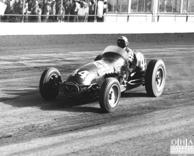 Tony Bettenhausen: National racing champion and three-time winner at the state fair was involved in one of the great finishes, ever, at the Moody Mile.
