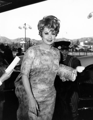 The real Lucille Ball, in 1967: Carolyn Palmer wants to make a sculpture she believes Lucy would appreciate.