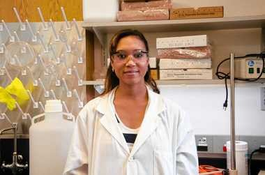 Ariel Ash-shakoor is a third-year doctoral student in the Biomedical and Chemical engineering department at Syracuse University. Ash-shakoor is one of four minority women graduate students in her department, compared to 112 non-minority grad students.