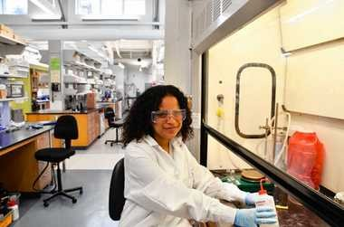 Alexis Pena is a junior in Syracuse University's Biomedical and Engineering Department. Pena is one of 34 minority women undergraduates in the department, compared to 256 non-minority undergraduates.