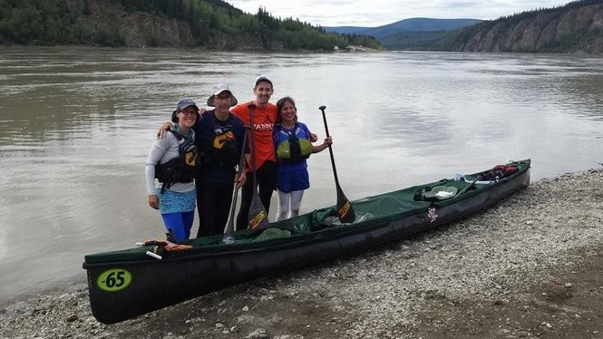 CNY team finishes first in class at world's longest canoe