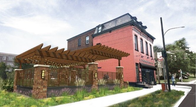 A rendering by Dalpos Architects of the Community Cafe planned for 1555 S. Salina St. on Syracuse's Southside.
