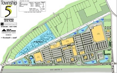 A Costco Wholesale warehouse club is to be the first retail tenant of Township 5, a mixed-use development planned by Cameron Group LLC in Camillus. The retail, office and apartment development would be built at the northwest corner of Route 5 and Hinsdale Road in Camillus.