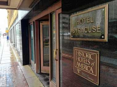 Pyramid Hotel Group, of Boston, hopes to restore the historic character of the Hotel Syracuse with a renovation estimated to cost more than $60 million.