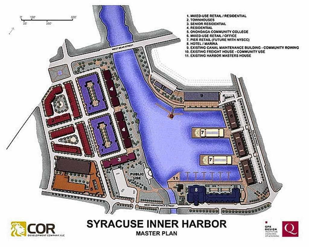 Syracuse Inner Harbor master plan