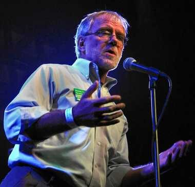 The Green Party's Howie Hawkins on the campaign trail in 2010