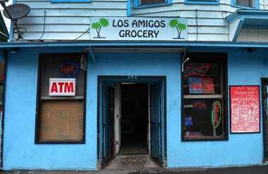 Los Amigos Grocery on the corner of Cannon Street and West Brighton Ave. in Syracuse. Michael Daniels was beaten outside of it. Owner Ruben Colon flagged down police to assist.