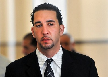 Andy Ashkar in April, during his trial in Onondaga County Court.