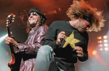 Rocker Jon Bon Jovi performs at the New York State Fair in a 1995 file photo. That was the last year Bon Jovi performed at the fairgrounds near Syracuse.