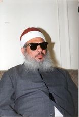 Abukhdair wanted to seize hostages and demand the release of Omar Abdel-Rahman (above), who was convicted in connection with the 1993 World Trade Center bombings.