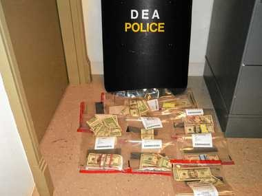 The DEA seized nearly $80,000 in cash that was believed to be profits from the sale of bath salts in April 2011, when DEA agents executed nine search warrants in Central New York.