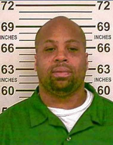 "Robert ""Bam Bam"" Lawrence, who is serving a term of life in prison for murdering Syracuse Police Investigator Wallie Howard Jr. in 1990, appears in a photo taken in a New York state prison dated Nov. 19, 2013. Lawrence is scheduled to appear in a federal courtroom in Utica today to ask for a reduction of his sentence."