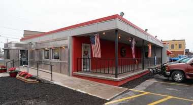 Operator Doug LaLone plans to enclose this outdoor patio area, expanding indoor seating at The Gem diner in Syracuse from 130 to 170.