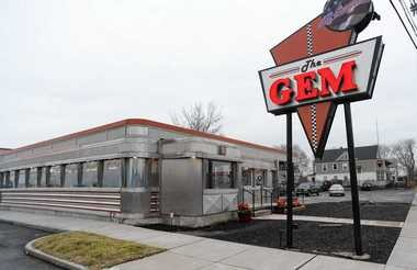 The Gem diner, with its stainless steel exterior, has been a Syracuse landmark for nearly 60 years. Operator Doug LaLone plans to expand its indoor seating from 130 to 170.