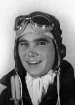"Richard ""Dick"" Faulkner as a young turret ball gunner in World War II."