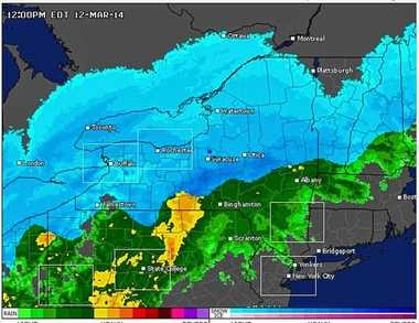 Weather Update On The Winter Storm Burying Central New York