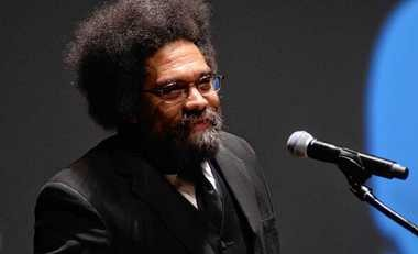 Cornel West spoke at Syracuse University in 2012. He speaks Sunday in Syracuse.