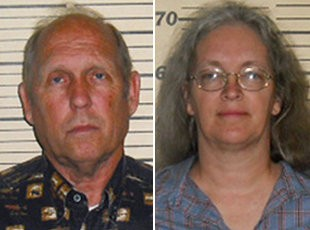 John Jackson, left, and Nita Jackson, were charged with felony sexual abuse for allegedly failing to stop the abuse allegedly committed by their six sons.