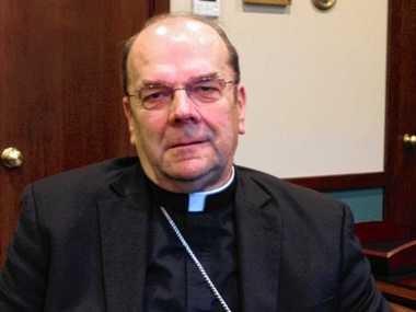 Syracuse Bishop Robert Cunningham on Nov. 24, 2014.