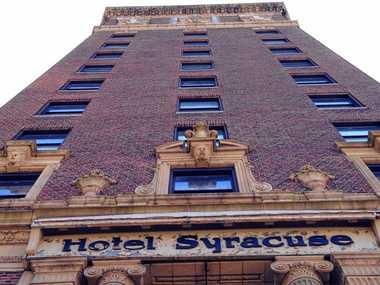The Hotel Syracuse is expected to get a new name following a major renovation and its planned reopening in 2016.