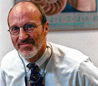 Dr. Timothy Quill, at his office in Rochester, in an April 1996 file photograph, is once again playing a quiet but central role as he pushes to legalize doctor-assisted suicide for terminally ill patients.