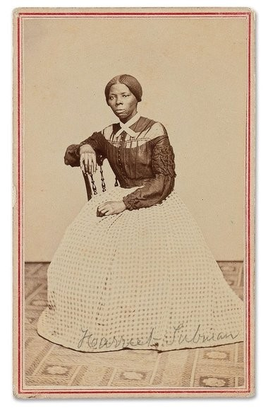 This is the full image of a photograph of Harriet Tubman that was auctioned off Thursday, March 20, 2017.