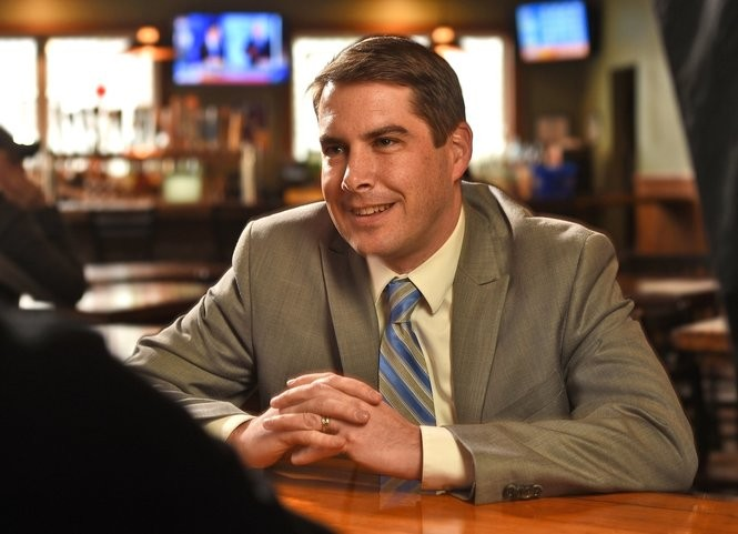 Syracuse Mayor-elect Ben Walsh at the Blarney Stone at 314 Avery Ave. in Syracuse, Dec. 7, 2017.