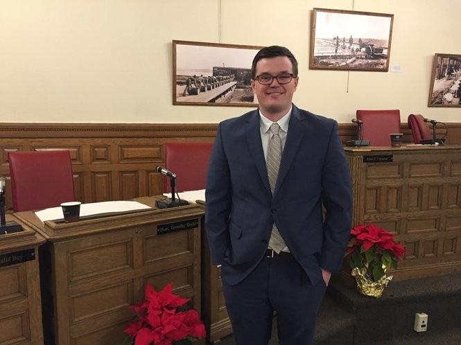Syracuse Common Councilor At Large Michael Greene, Monday, Jan. 22, 2018.