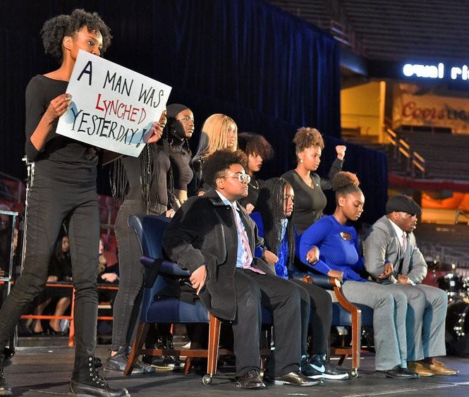 Angela Rye gives keynote address at Syracuse University's 33rd annual Martin Luther King Jr. Celebration